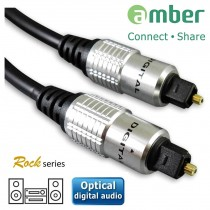 AT22_ S/PDIF Optical Digital Audio Cable, Toslink to Toslink, 2m.