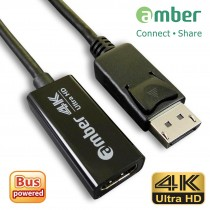 [DPH-11] DP Adapter, DisplayPort to HDMI 4K (DP to HDMI 4K)