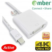 [MDP-D14] 主動式轉接器Active Adapter, mini DisplayPort轉DVI. ( Thunderbolt to DVI; mini DP to DVI.)